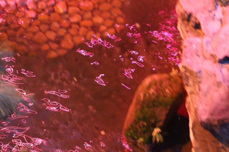 Pink Waterfall