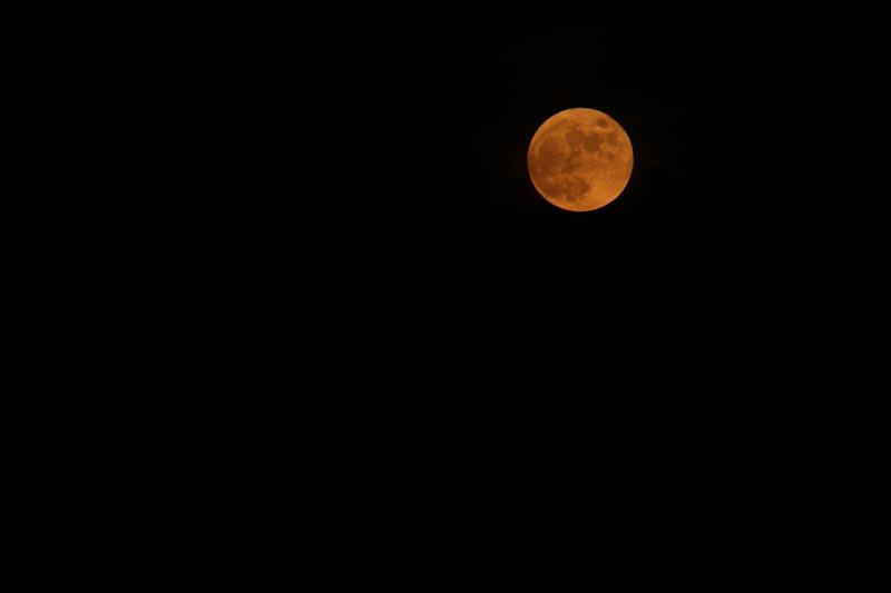 The moody moon