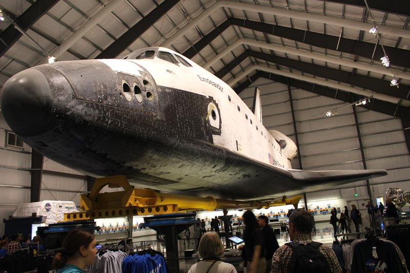 The marvel of a space shuttle