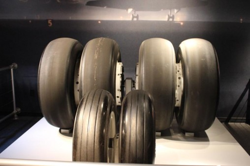 the tires from the shuttle endeavour